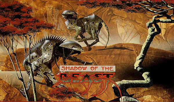 "Roger Dean ""Shadow of the Beast"""