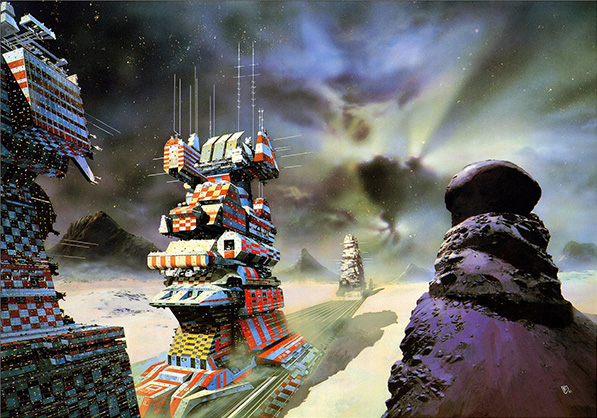 Chris Foss Travelling Cities