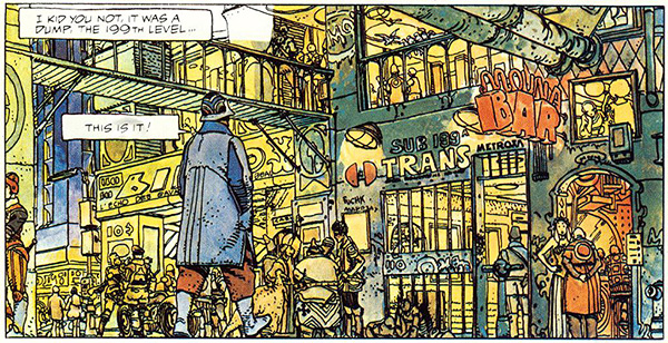 Moebius - The Long Tomorrow