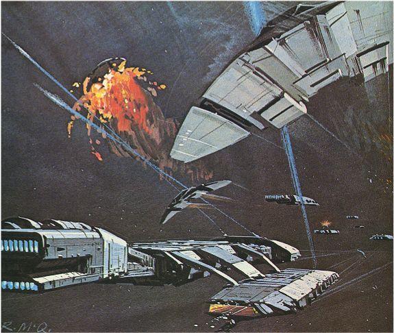 Ralph Mcquarrie - Battlestar Galactica