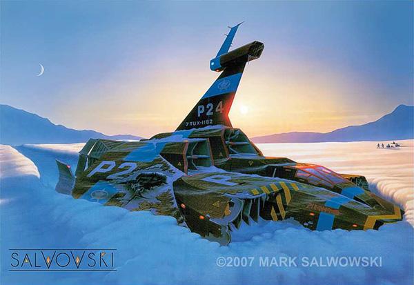 "Mark Salwowski ""Fallen Angels"""