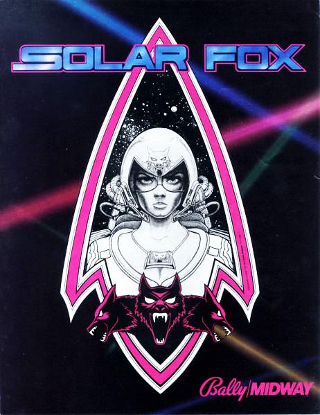 Solar Fox - Flyer - 1982