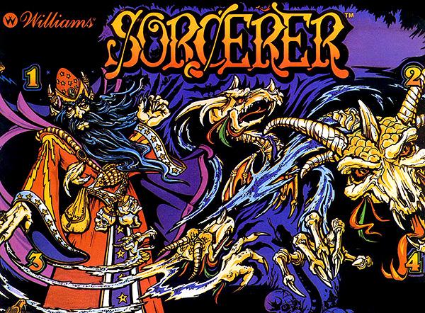 """""""Sorcerer"""" Pinball Flyer"""