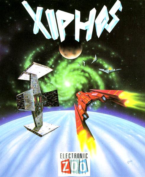 """Steiner Lund """"Xiphos"""" Cover Art"""